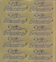 Zier-Sticker-Bogen-Wir Heiraten-3644g