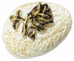 Mini Stein mit Rose-gold-HobbyFun-CREApop-Tisch/Kartendeko-3cm -176