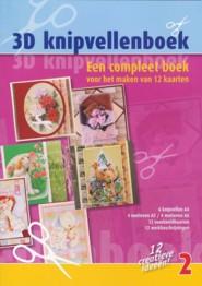 3D Karten-Buch-für 12 Karten mit Material- Nr.2