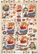 Neuer-3D-Bogen-Marianne Design-Mindy's Christmas-snow-3D 550