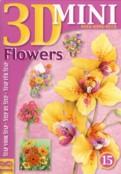3D-Buch-Mini-Studio Light-Nr.15-Flowers / Blumen-18 Motive