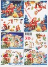 3D Bogen-Etappenbogen-Nikolaus liest vor-4169102