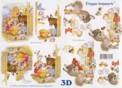 3D Bogen-Etappenbogen-Krippe-4169207