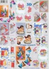3D Bogen-Etappenbogen-kleine Motive-4169366