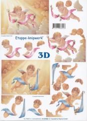 3D-Etappen-Bogen-Engel im Himmel-4169406