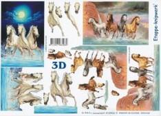 3D Etappen-Bogen- Pferde -Herden-4169426