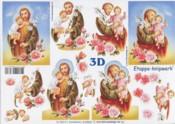3D Etappen-Bogen-Christliches Motiv-4169561