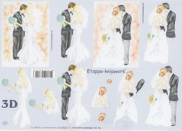 3D Bogen Brautpaare-4169651