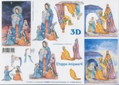 3D-Etappen-Bogen-Heilige drei K�nige--416969