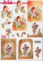 3D Etappen-Bogen-Küken-4169774