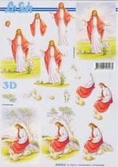 3D-Etappen-Bogen-Christus/Jesus-4169814