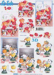 3D Bogen-Einschulung /Erster Tag im Kindergarten-4169822