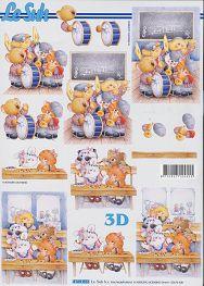3D Bogen-Einschulung /Erster Tag im Kindergarten-4169823