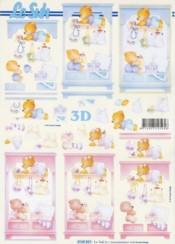 3D Bogen Baby-Kinderzimmer-Schrank-4169831