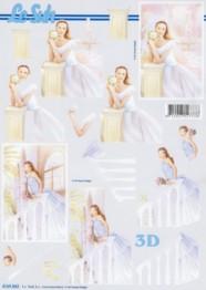 3D Bogen-Etappenbogen-Braut-4169852