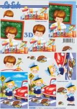 3D Etappen-Bogen-Schule/Schülerlotze/Schulanfang/4169884