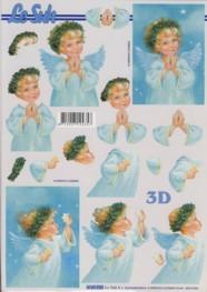 3D-Etappen-Bogen-betendes Engelchen -4169920
