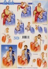 3D-Etappen-Bogen-Heilige Familie-4169948