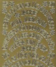 Zier-Sticker-Bogen-verschiedene Schriftzüge-gebogen-426g