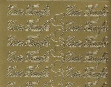 Zier-Sticker-Bogen-Zur Taufe-427g