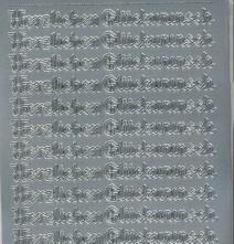 Zier-Sticker-Bogen-Herzlichen Glückwunsch in Schnörkel-Schrift-432s