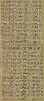 Zier-Sticker-Bogen-4403g-Herzlichen Glückwunsch-gold