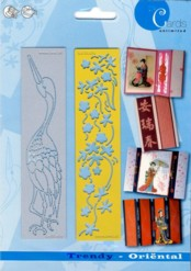 Zwei Embossing-Schablonen-Trendy-Oriental-4610654