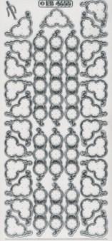Stick-Zier-Sticker-Bogen-4655 trs-Ecken und Ränder