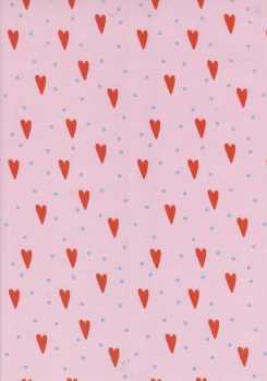Marpa Jansen-Transparentpapier Nobless-7417-00-Herzen-Punkte