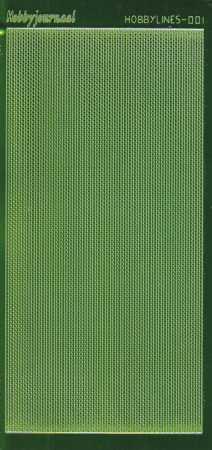 Zier-Sticker-Bogen-5000 spfgr-Spiegelfolie-dünne Perlenränder-grün