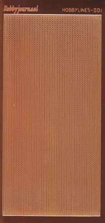 Zier-Sticker-Bogen-Spiegelfolie-dünne Perlenränder-kupfer-5000 spfk