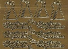 Zier-Sticker-Bogen-5009g-Menükarte zur Hochzeit
