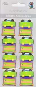 Ursus-3D Kreativ Accessoires-KA306-Schule - Einschulung -Schultasche -Tornister