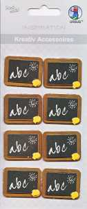 Ursus-3D Kreativ Accessoires-KA308-Schule - Einschulung -Tafel