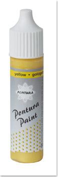 Pontura - Paint - 10ml -Pastellfarbe- 005 goldgelb
