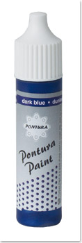 Pontura - Paint - 10ml -Volltonfarbe- 007 blau