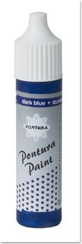 Pontura - Paint - 10ml -Volltonfarbe- 007 blau