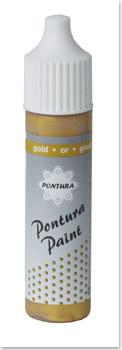 Pontura - Paint - 10ml -Basisfarbe- 013 gold