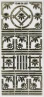Zier-Sticker-Bogen-Ecken und Ränder-6227trg
