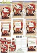 Pyramiden Bogen-weihnachtliche Pandas-LeSuh-630121