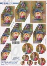Pyramiden Bogen-Laterne-Adventkerzen-LeSuh-630161