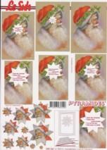 Pyramiden Bogen-nostalgischer Weihnachtsmann-LeSuh-630162