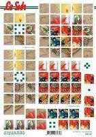 3D Squares Bogen-Kugeln und Kerzen-LeSuh-630197