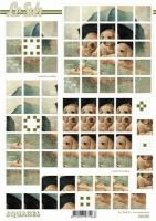 3D Squares Bogen-630202-Hunde - Welpen-LeSuh