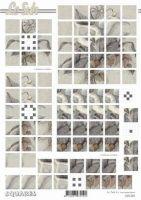 3D Squares Bogen-Trauer-Beileid-Cala -LeSuh-630204