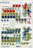 3D Squares Bogen-Papageien-LeSuh-630207