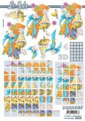 3D Squares/ Etappen-Bogen-1ter Geburtstag-LeSuh-630225
