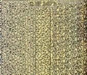 Zier-Sticker-Bogen-verschiedene dünne Linien-Borden-hologramm/gold-6571hog