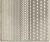 Zier-Sticker-Bogen-verschiedene dünne Linien-Borden-transparent-gold-6571trg