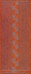 Micro-Glittersticker-kleine Ecken/glatte Ränder-orange/silber-7004gors